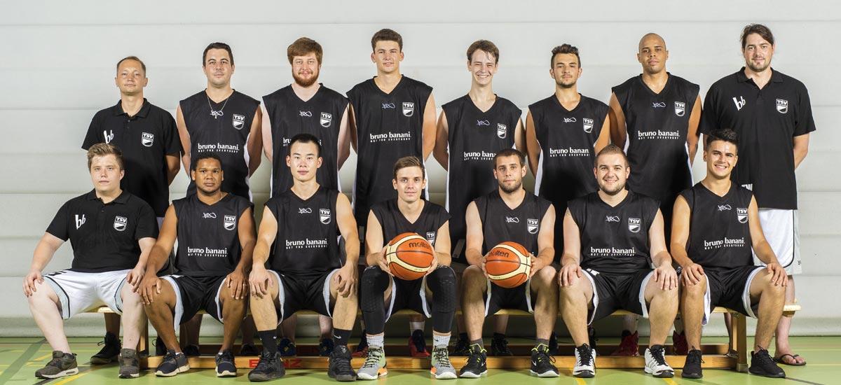 TSV Essingen Basketball Gruppenbild 2017/18