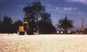 Bau 2 weitere Sandplätze 01