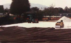 Bau 2 weitere Sandplätze 02