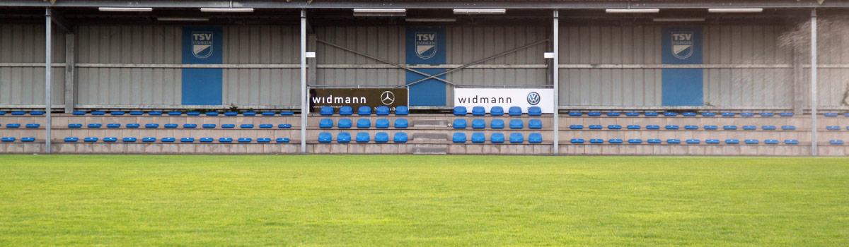 TSV Essingen Tribüne im Stadion
