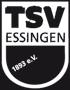 Logo TSV Essingen schwarz-weiss negativ