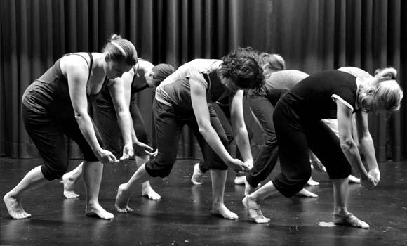Modern Dance Synchronizität