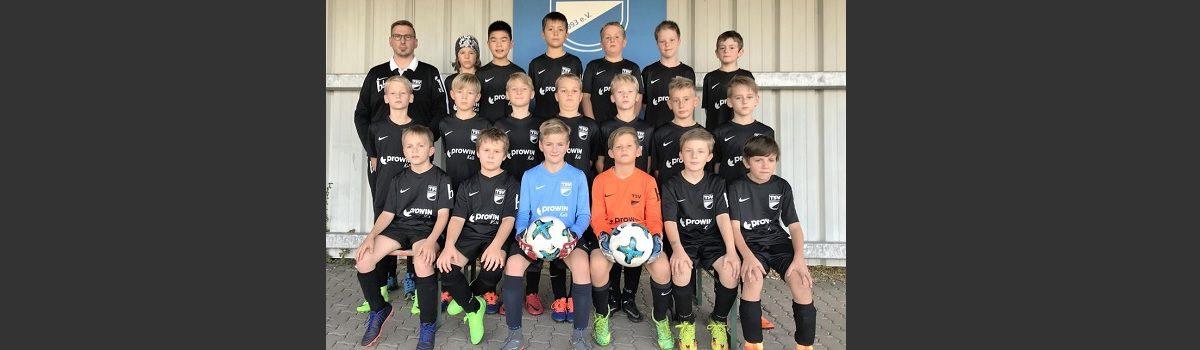 Fussball Saison 2018/2019 E Jugend