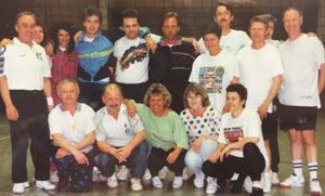 1995 Tennisalternative im Winter Gymnastik und Volleyballgruppe 02