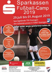 Fussball Camp Flyer Teil 1