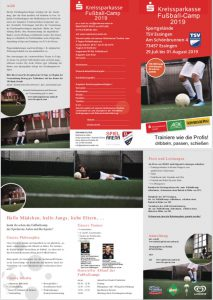 Fussball Camp Flyer Teil 2