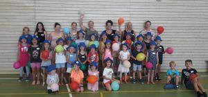 Gruppenfoto des Kinderferienprogramms