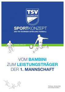TSV Sportkonzept | vom Bambini zum Leistungsträger der 1. Mannschaft