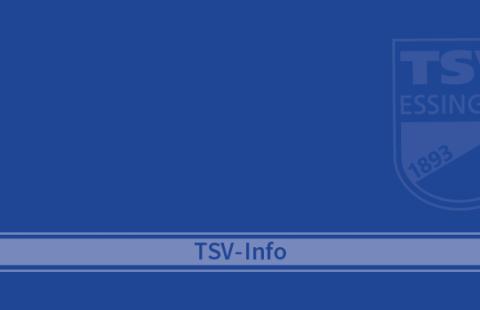 Einladung zur TSV-Mitgliederversammlung